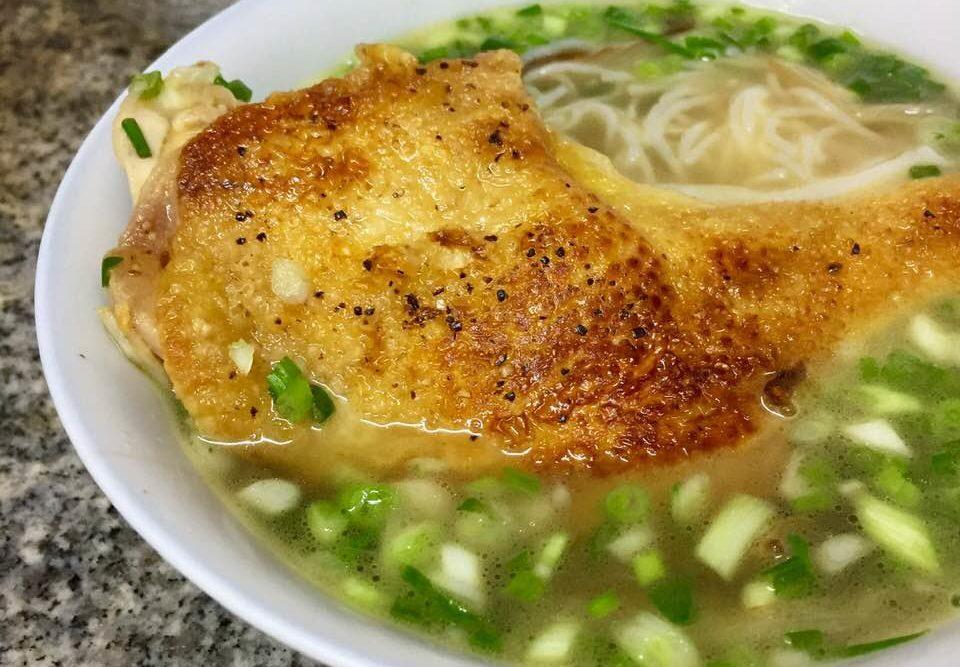 台式蔥雞湯